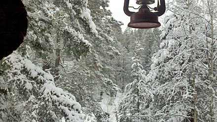 Cloudcroft Snow - December 20, 2011